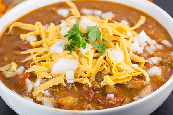 low carb beanless chili 3