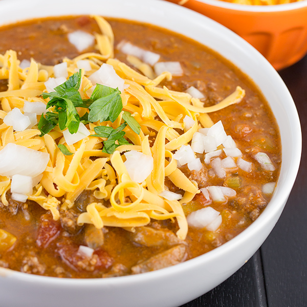 low carb beanless chili 7