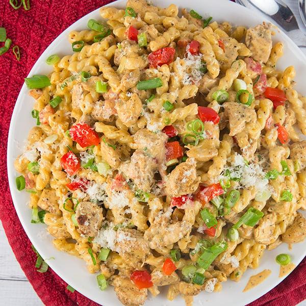 cajun chicken pasta 10
