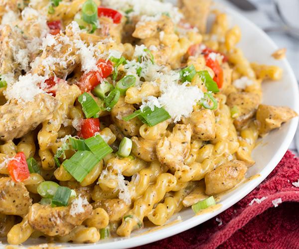 cajun chicken pasta 8