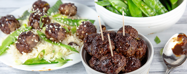 asian glazed meatballs 1