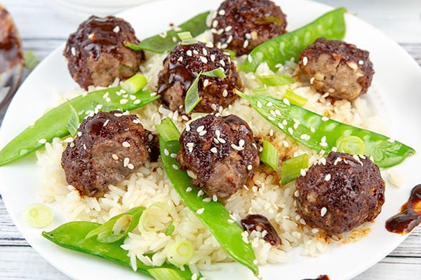 asian glazed meatballs 3