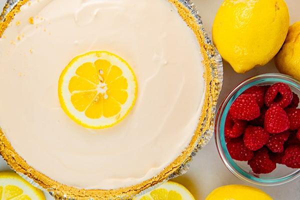 pink lemonade pie {frozen} 4