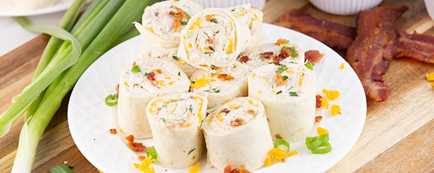 chicken bacon ranch pinwheels 1