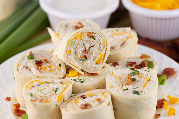 chicken bacon ranch pinwheels 3