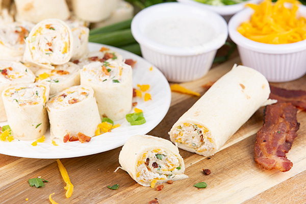 chicken bacon ranch pinwheels 5