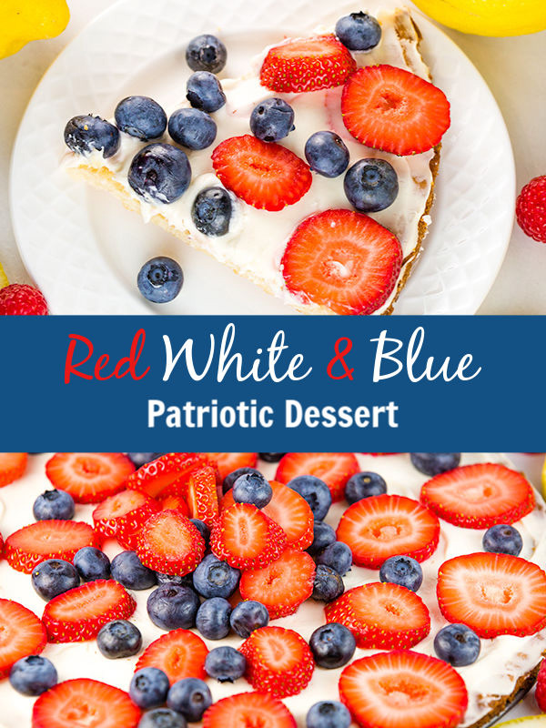 red white blue patriotic dessert 3