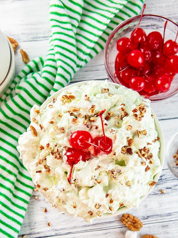 watergate salad pistachio fluff 4