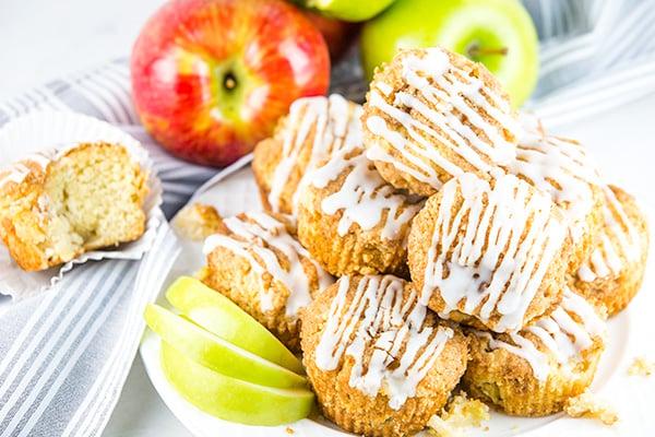 apple cinnamon streusel muffins 2
