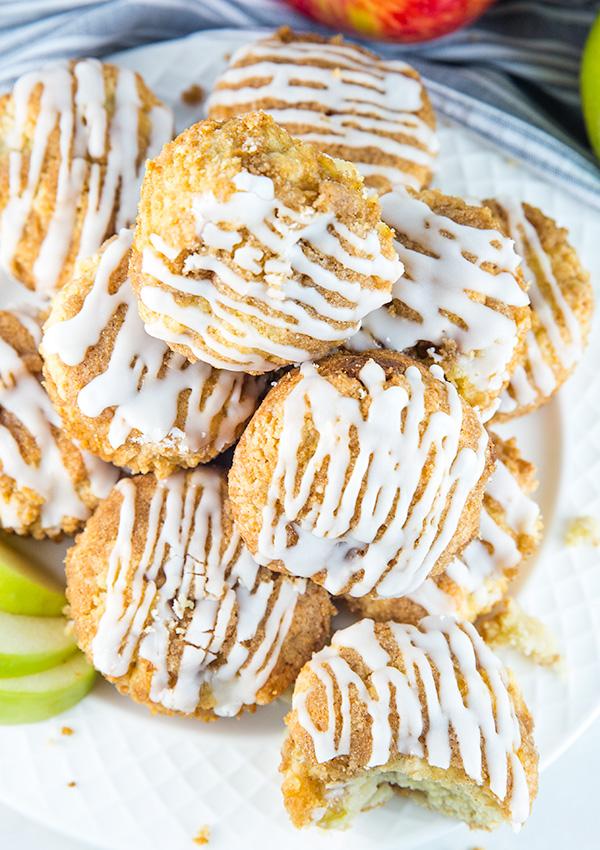 apple cinnamon streusel muffins 4
