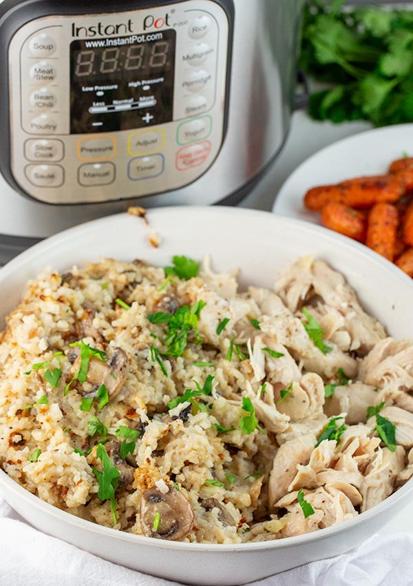 instant pot chicken rice 2