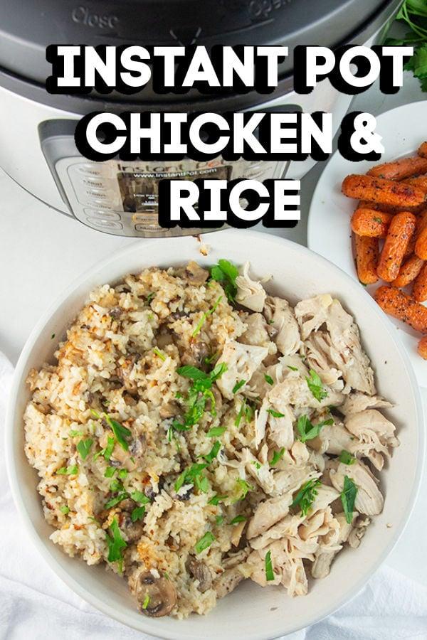 instant pot chicken rice 5
