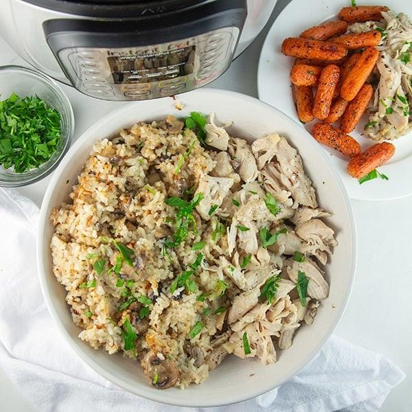 instant pot chicken rice 6
