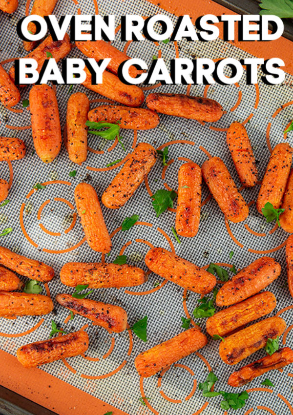 oven roasted baby carrots