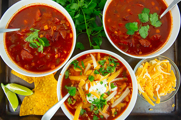 easy instant pot taco soup 3