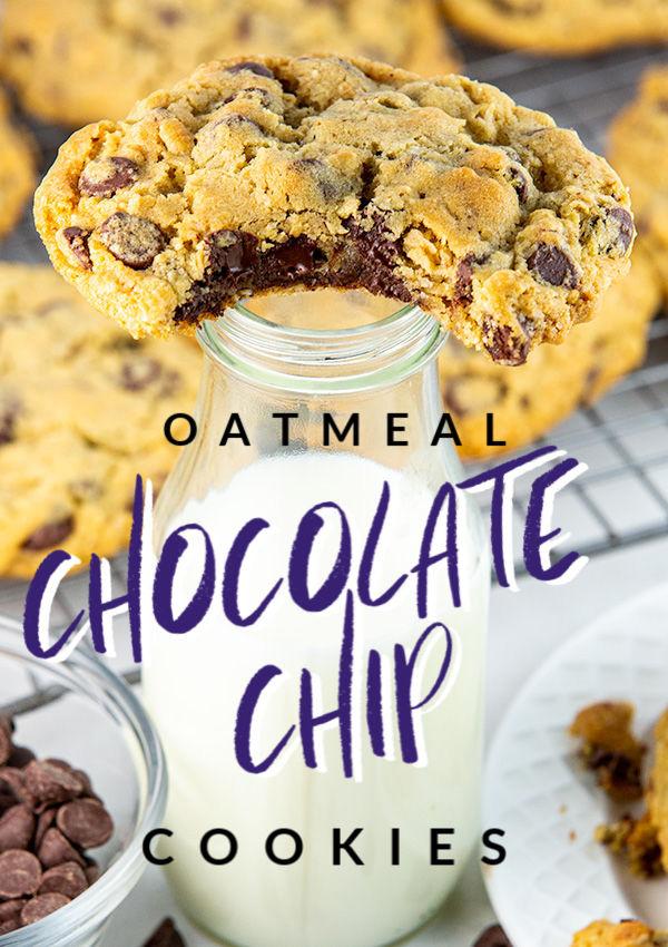 oatmeal chocolate chip cookies 4
