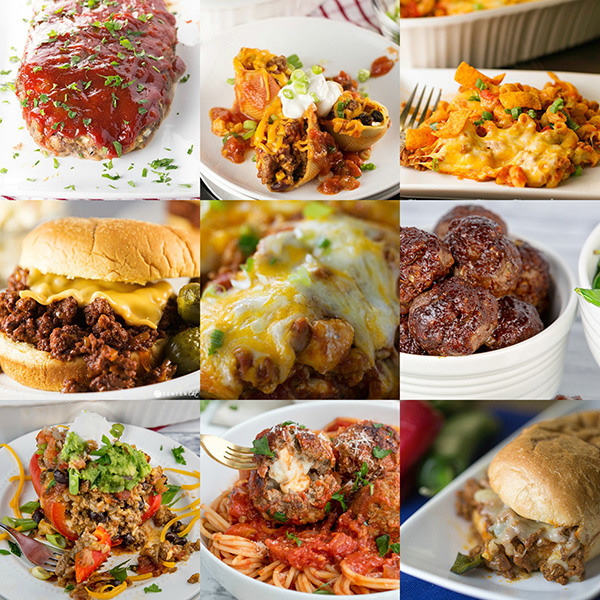 easy ground beef recipes for dinner