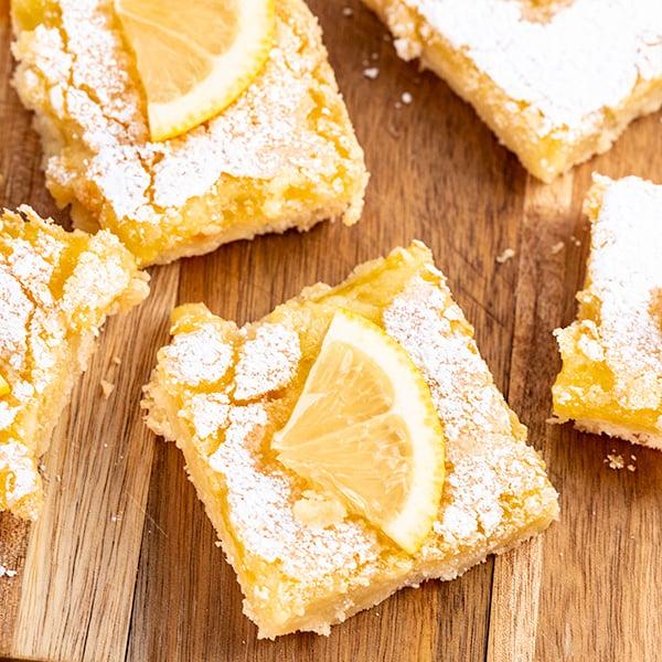 lemon bars 5