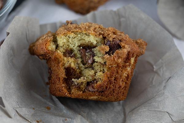 banana chocolate chip crumb muffins updated 2