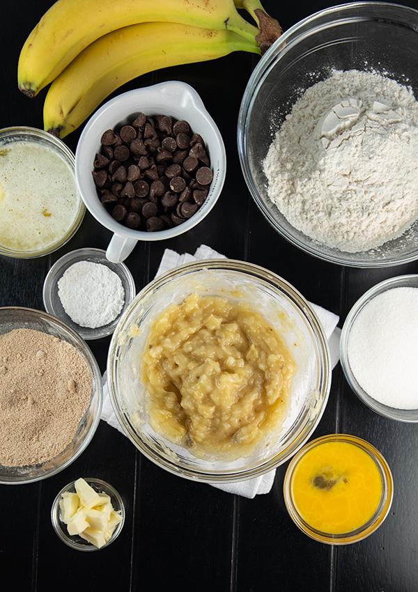 banana chocolate chip crumb muffins updated 5