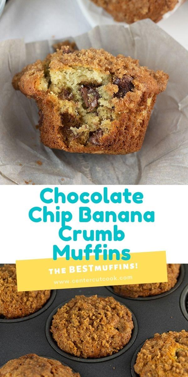 banana chocolate chip crumb muffins updated 7