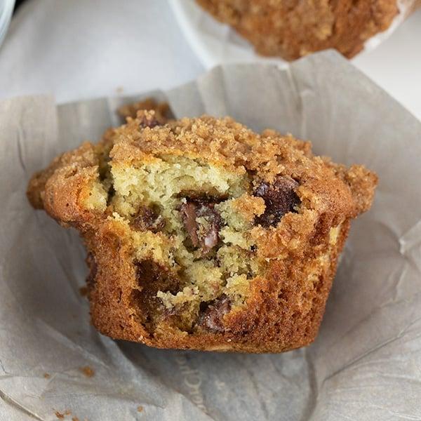 banana chocolate chip crumb muffins updated 8