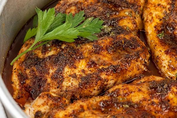 easy oven baked blackened chicken 5