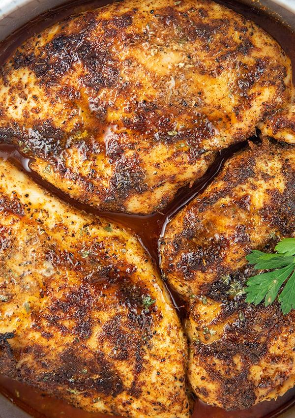 easy oven baked blackened chicken 6