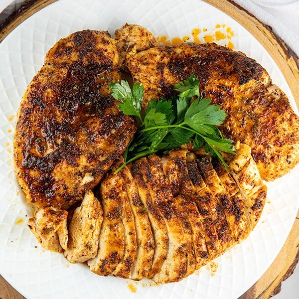 easy oven baked blackened chicken 7