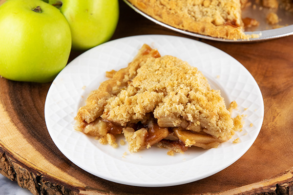 apple crumble pie updated 2